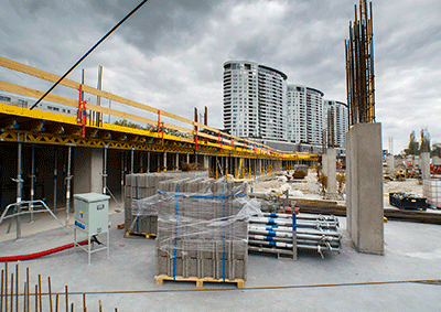 Výstavba - apríl 2017