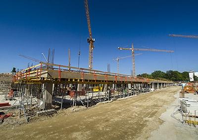 Výstavba - máj 2017