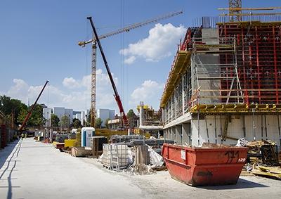 Výstavba - jún 2017