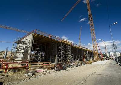 Výstavba - júl 2017