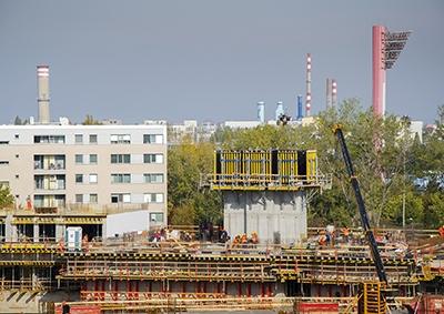 Výstavba - október 2017