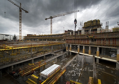 Výstavba - november 2017