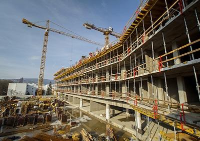 Výstavba - január 2018