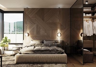 Spálňa - 5-izbový byt