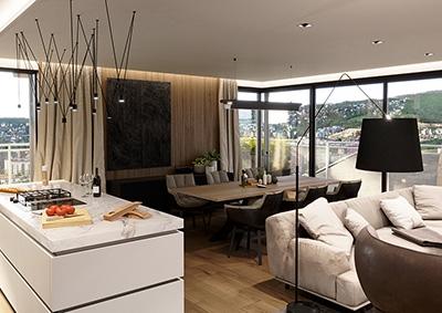 Obývačka - 5-izbový byt